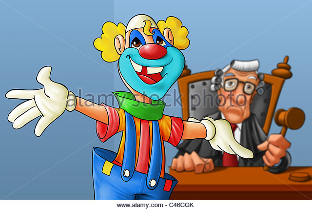 court-with-a-clown-in-the-first-plan-judge-is-not-happy-c46cgk
